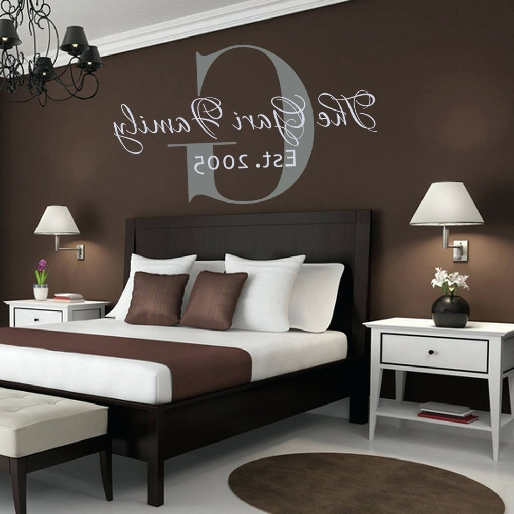 Most Current Customized Wall Art For Wall Arts ~ Customized Wall Graphics With Names Honor Your Name (View 10 of 15)