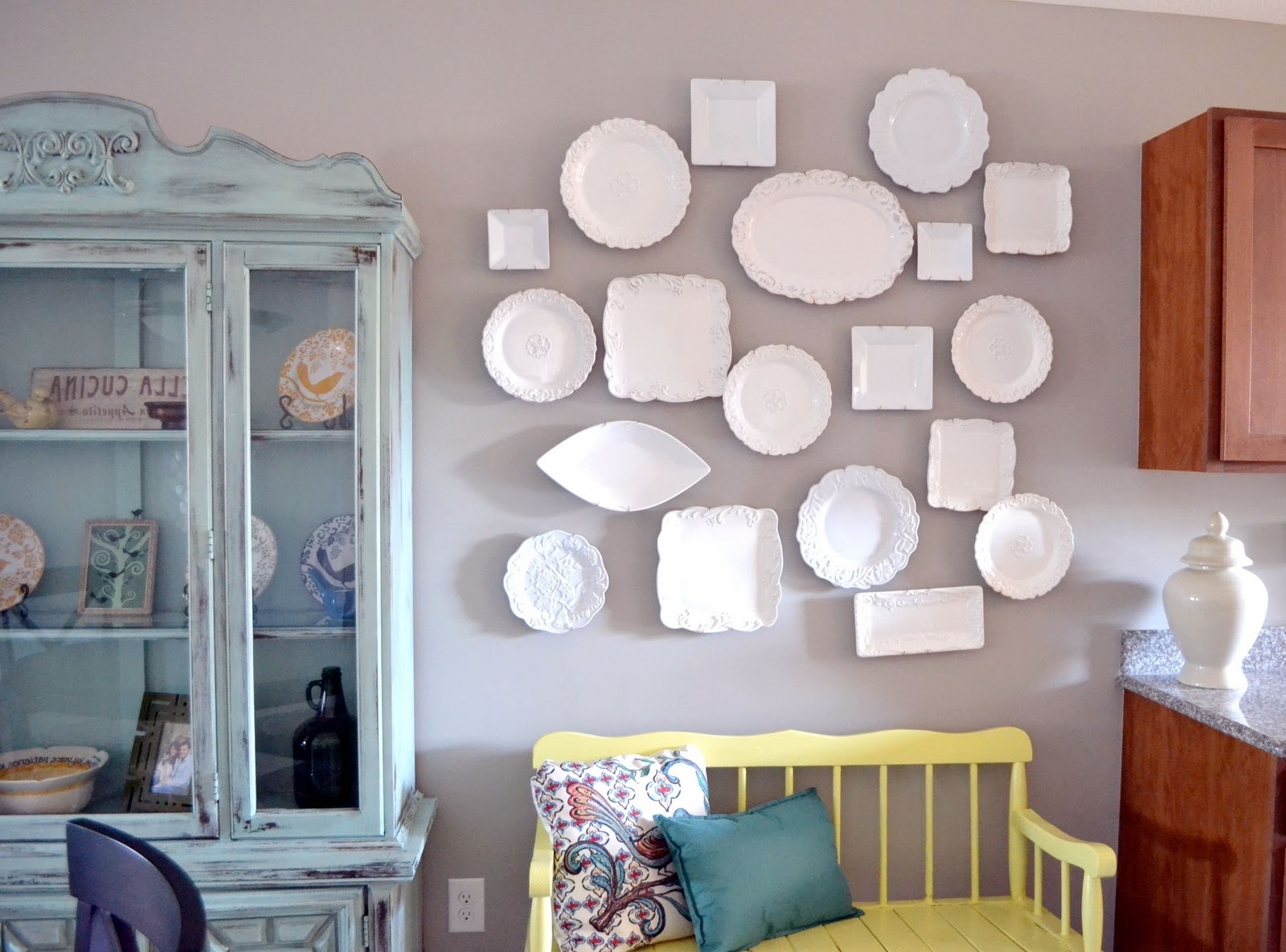 Most Current Eclectic Plate Wall Art – Liz Marie Blog Within Cucina Wall Art (View 14 of 15)
