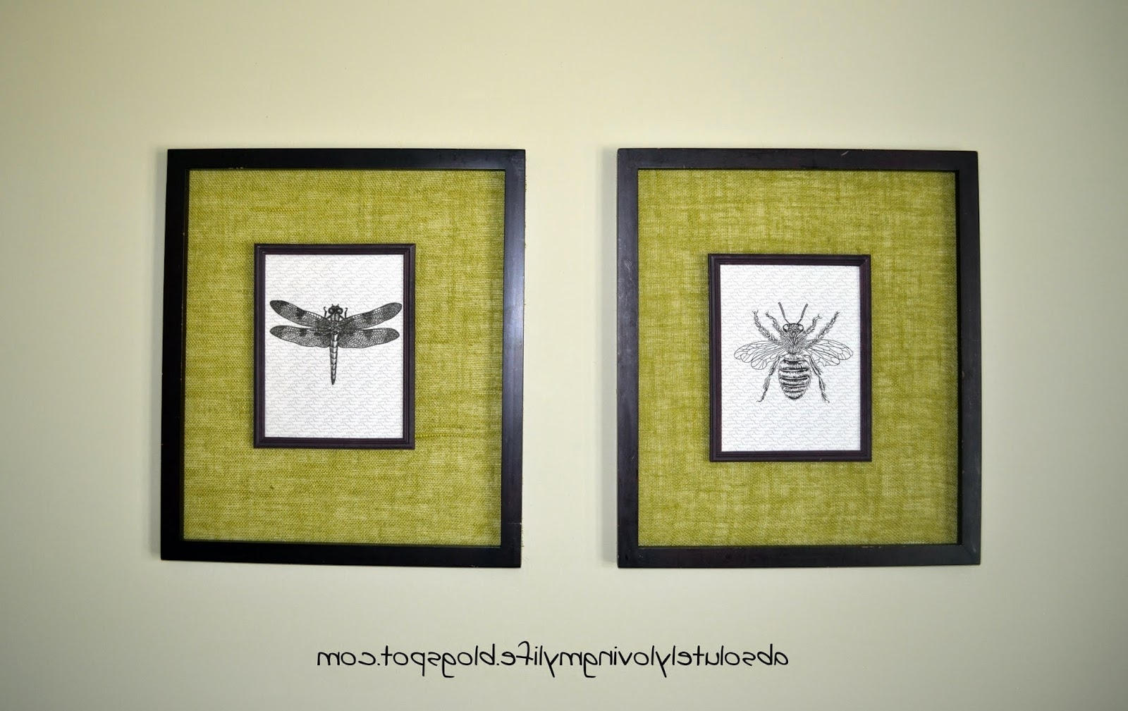 15 Ideas of Insect Wall Art