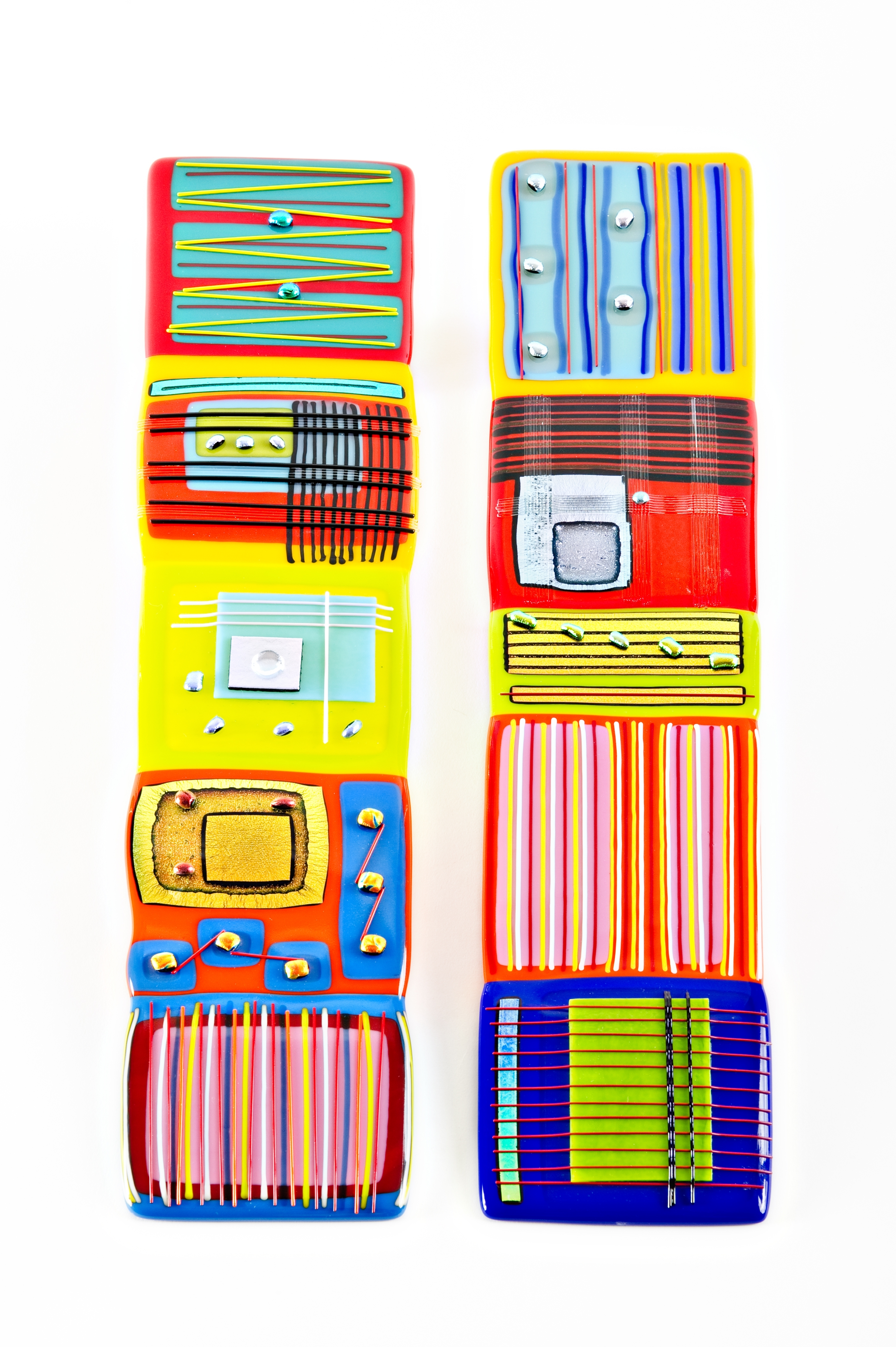 Most Current Large Fused Glass Wall Art Intended For Fused Glass Wall Art – Helen Rudy Glass (View 9 of 15)