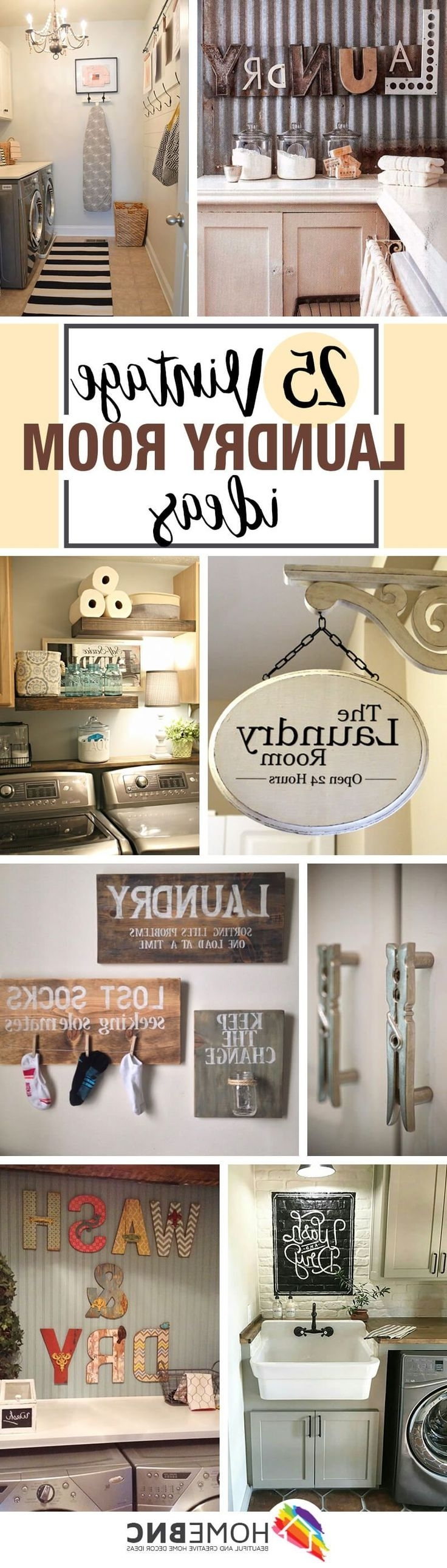 Most Current Laundry Room Wall Art Decors Within Best 25+ Laundry Room Wall Decor Ideas On Pinterest (View 10 of 15)
