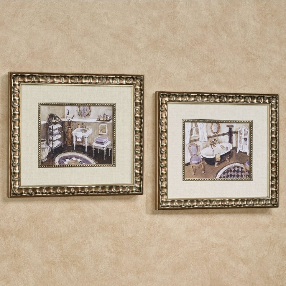 Most Current Matching Wall Art Regarding Bathroom Accessories : Matching Wall Art Book Story Sets Of (View 7 of 15)