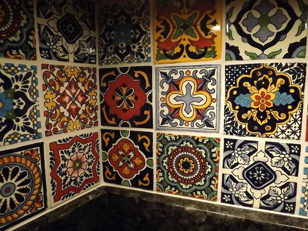 Most Current Mexican Ceramic Wall Art Pertaining To Wall Arts ~ Mexican Ceramic Wall Art Full Size Of Kitchen (View 7 of 15)