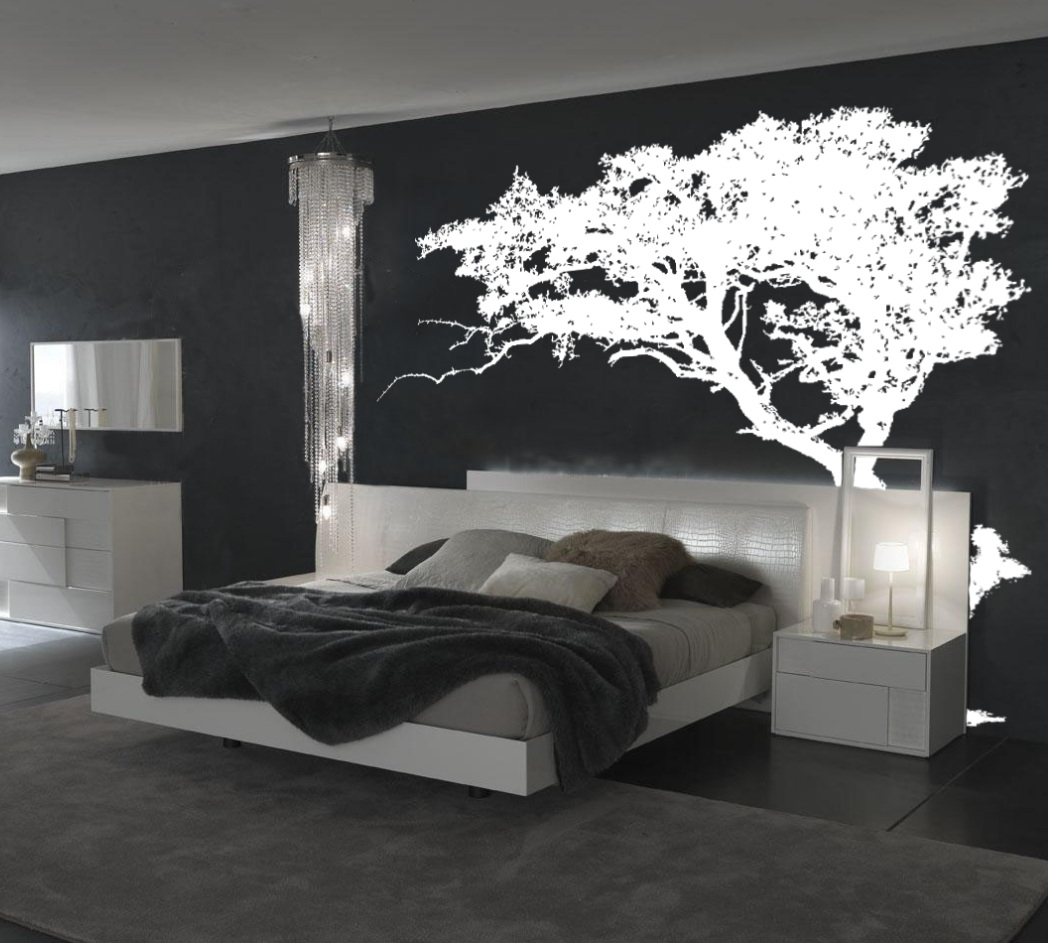 Most Current Modern Vinyl Wall Art Pertaining To Tree Wall Decals Idea (View 10 of 15)