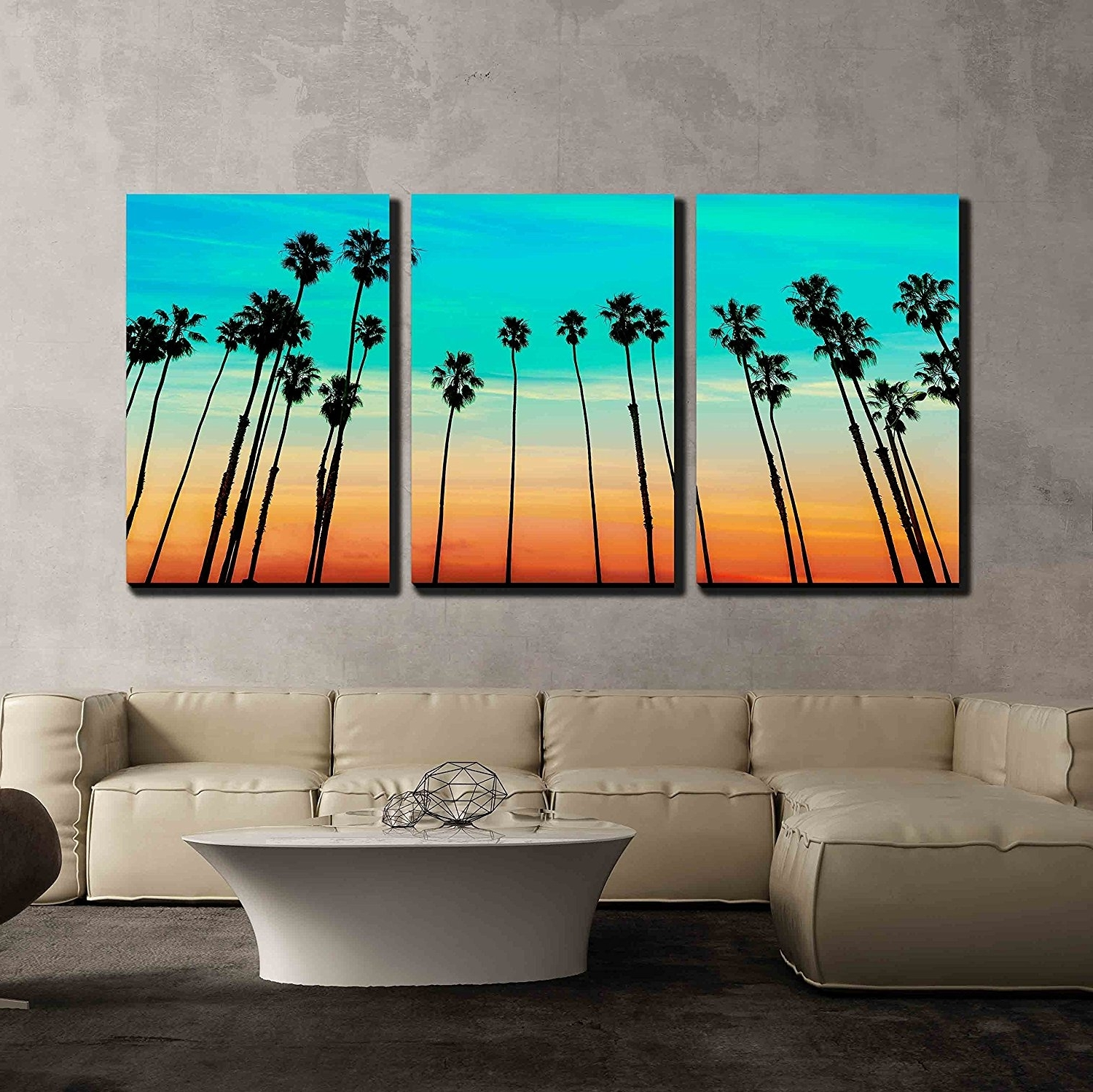 Most Current Orange And Turquoise Wall Art Throughout Wall26 – Art Prints – Framed Art – Canvas Prints – Greeting (View 5 of 15)