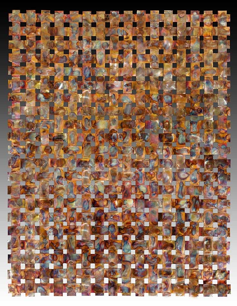 Most Current Outdoor Metal Wall Art Weaving > Outdoor Copper Wall Art > Woven Metal Throughout Woven Metal Wall Art (View 5 of 15)