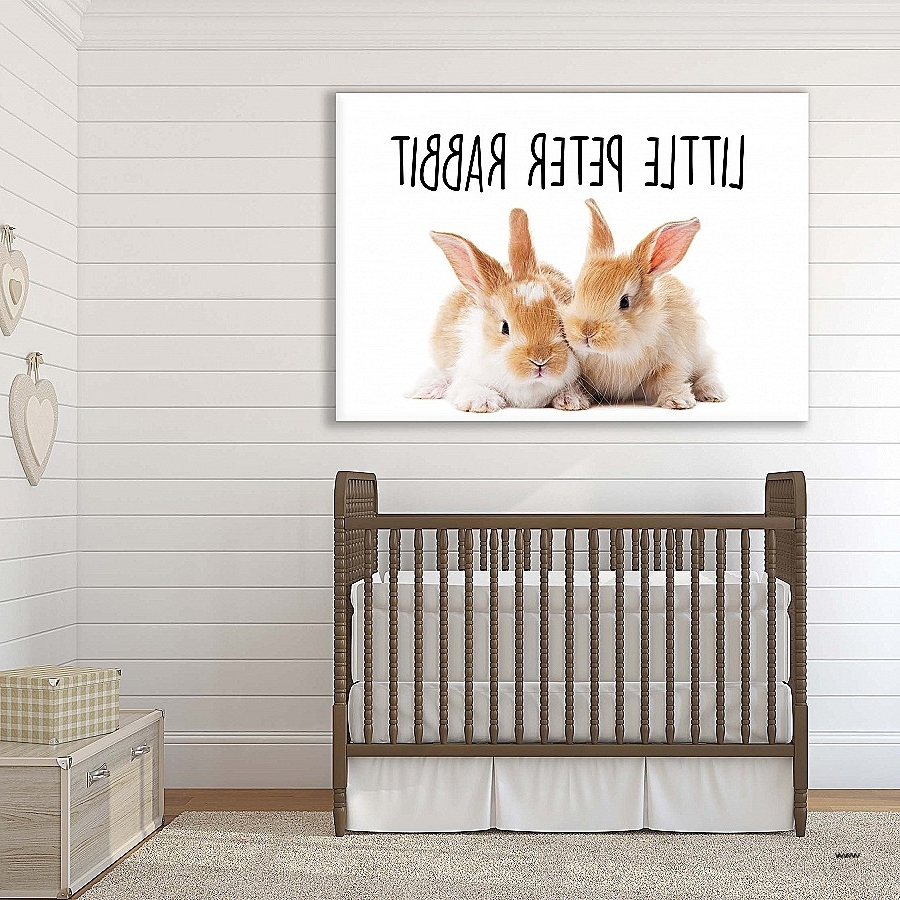 Most Current Peter Rabbit Wall Art In Peter Rabbit Wall Art Awesome Art For Bubs And Children High (View 7 of 15)