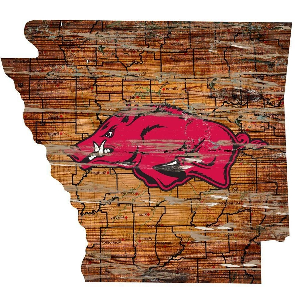 Featured Photo of Razorback Wall Art