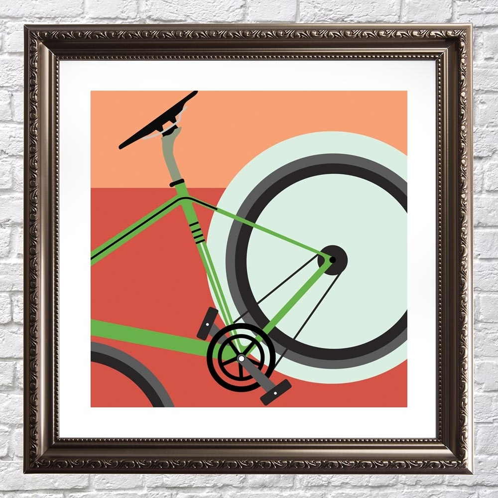 Most Current Rocket – Cycling Wall Art – Graff (View 9 of 15)