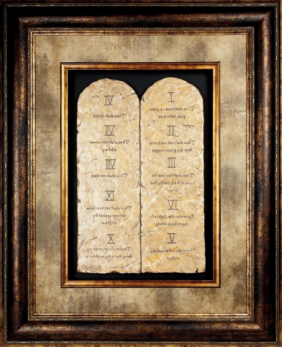 Featured Photo of 10 Commandments Wall Art