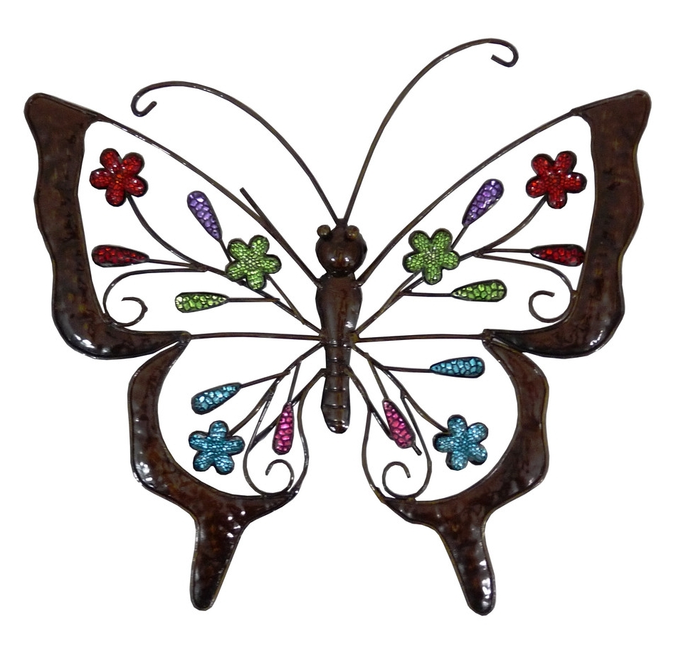 Most Current Wall Art Design Ideas: Outstanding Dining Room Artistry Outdoor Intended For Large Metal Butterfly Wall Art (View 5 of 15)