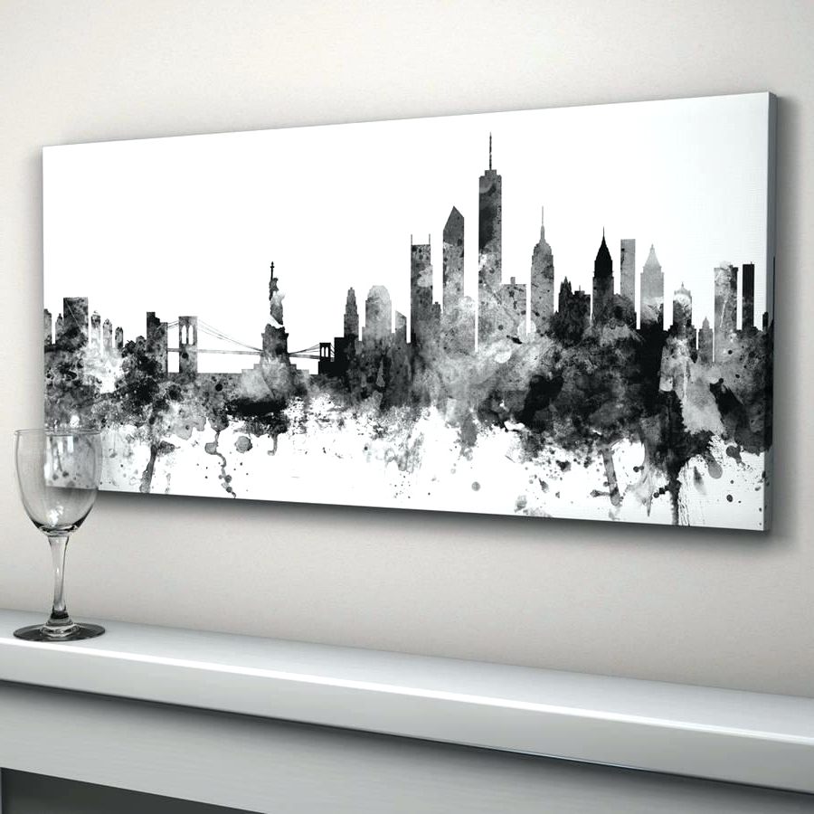Most Current Wall Arts: Black And White Wall Art Ideas (View 10 of 15)