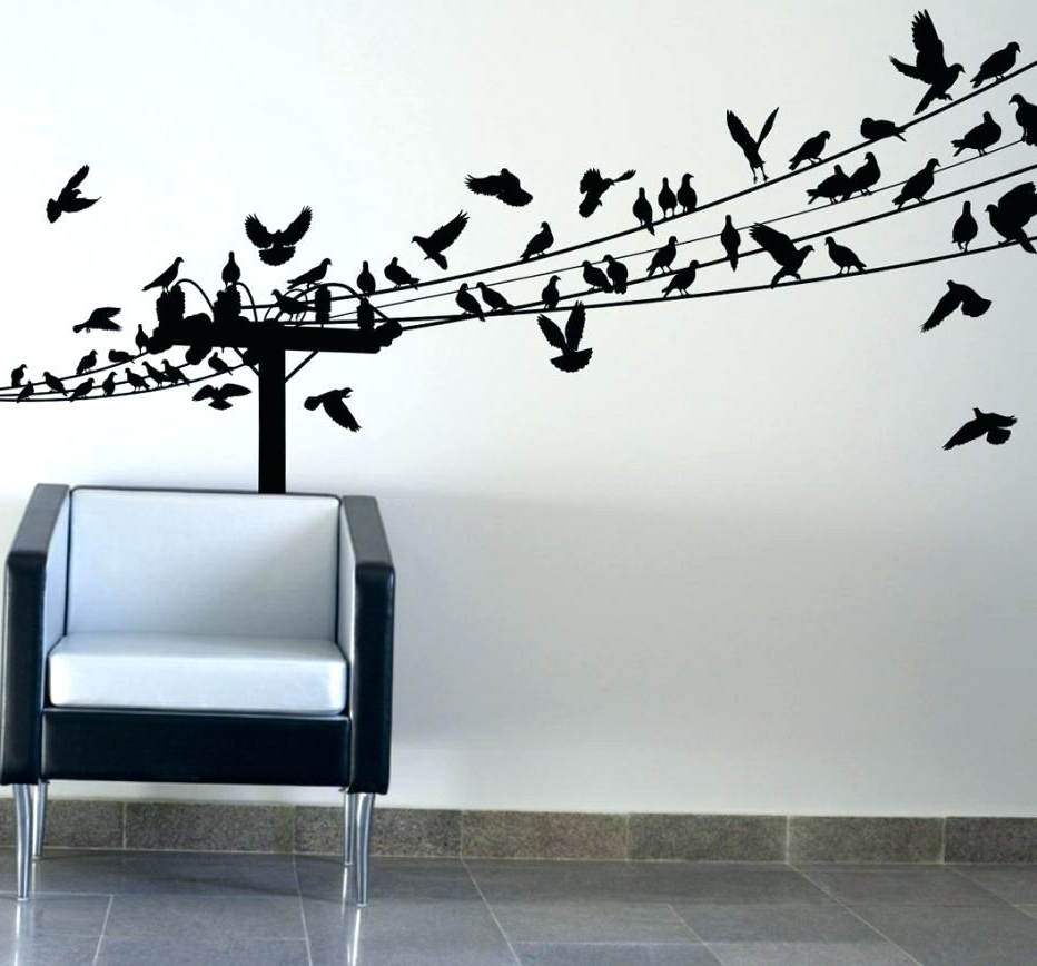 Most Current Wall Arts ~ Wall Decor 91 Awesome Birds On A Wire Wall Art Birds With Regard To Birds On A Wire Wall Art (View 6 of 15)