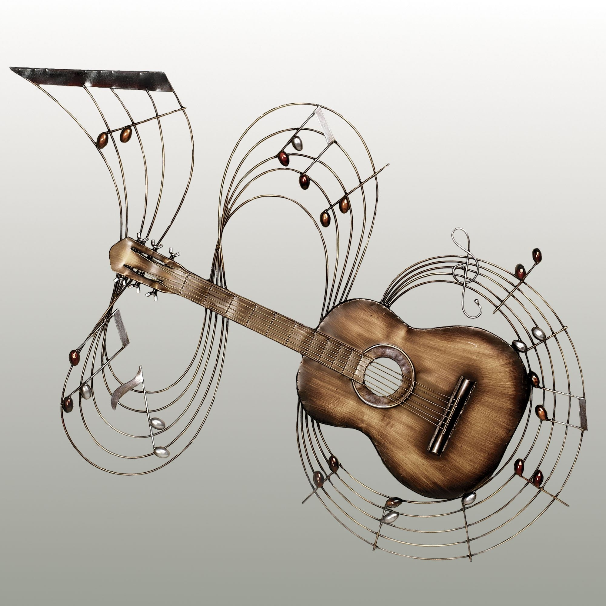 Most Current Within The Music Guitar Metal Wall Art Regarding Guitar Metal Wall Art (View 2 of 15)