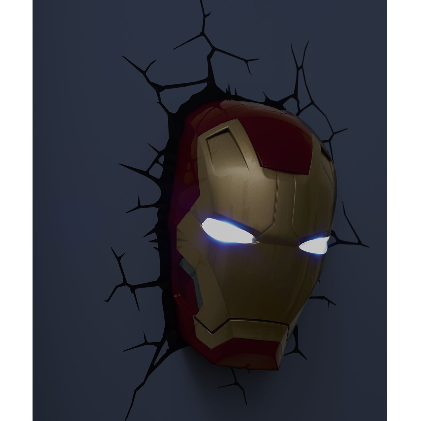 Most Popular 3D Wall Art Captain America Night Light With Regard To Marvel Avengers 3D Wall Light – Hulk, Iron Man, Captain America (View 13 of 15)