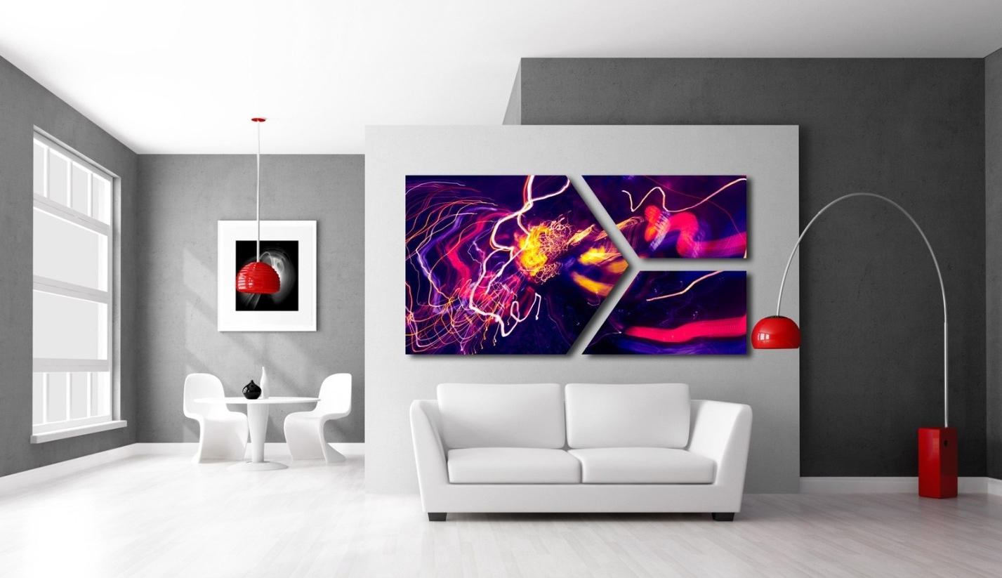 Most Popular Abstract Art Wall Murals Intended For Mural : Abstract Wall Mural Enthrall Abstract Wall Murals Cheap (View 11 of 15)