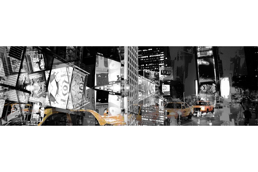 Most Popular Abstract Graphic Wall Art For New York Wall Art – Adam Barrell (View 15 of 15)