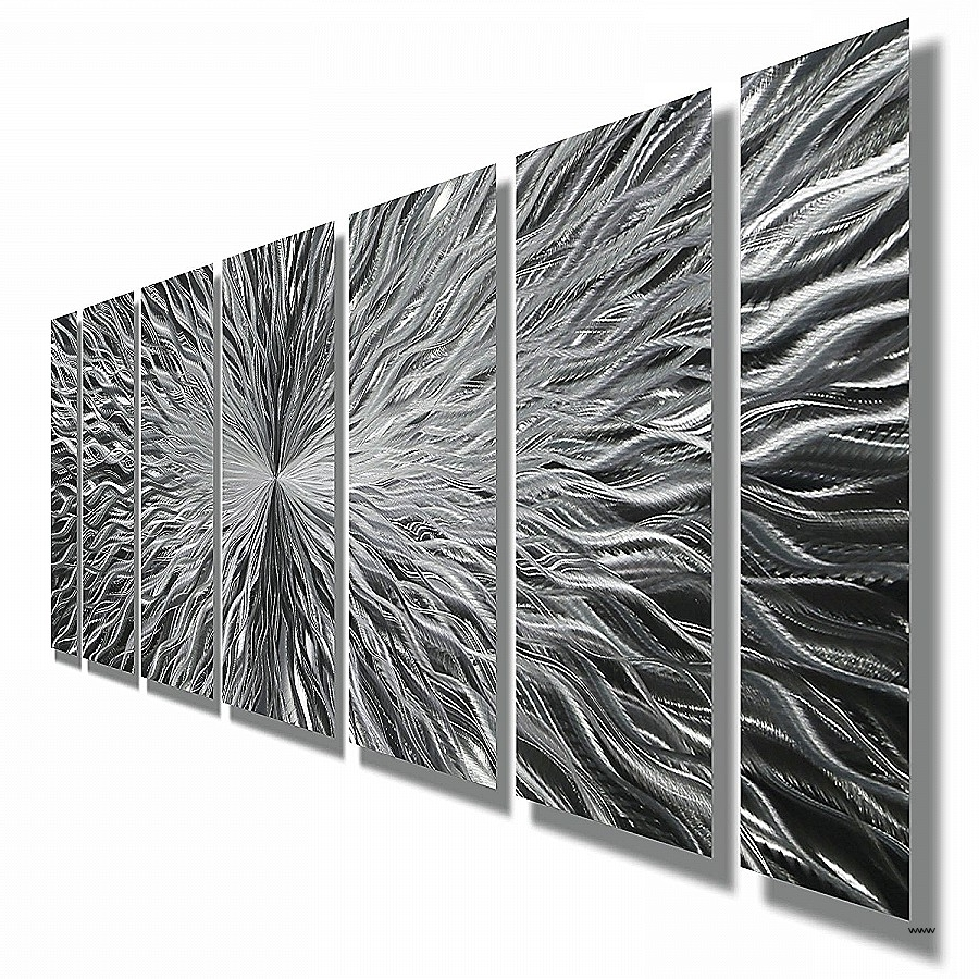 Most Popular Abstract Metal Wall Art Cheap Lovely Amazon Silver Contemporary Throughout Inexpensive Abstract Metal Wall Art (View 7 of 15)