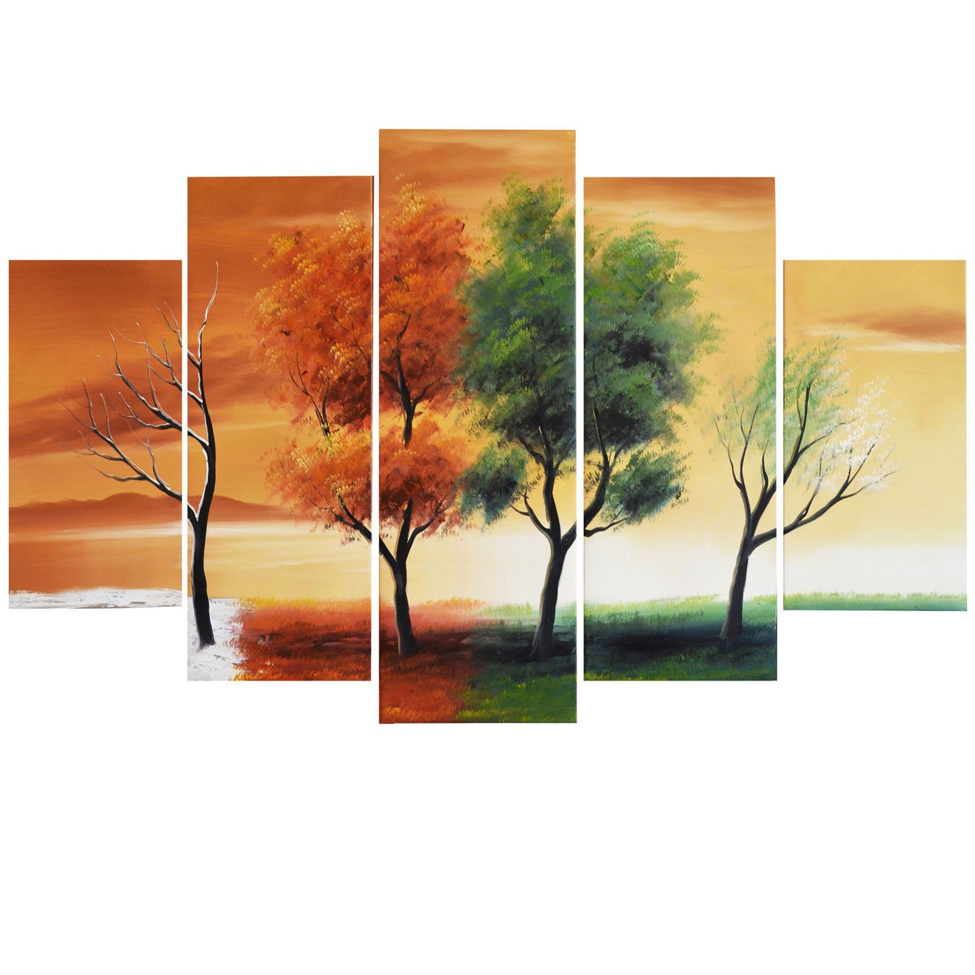 Featured Photo of Abstract Nature Canvas Wall Art