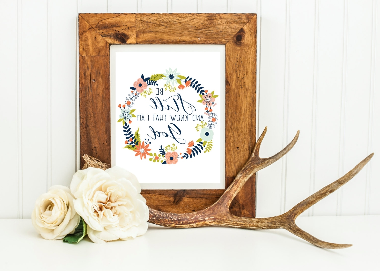 Most Popular Be Still And Know That I Am God Wall Art Regarding Be Still And Know That I Am God Wall Art, Scripture Wall Decor (View 11 of 15)
