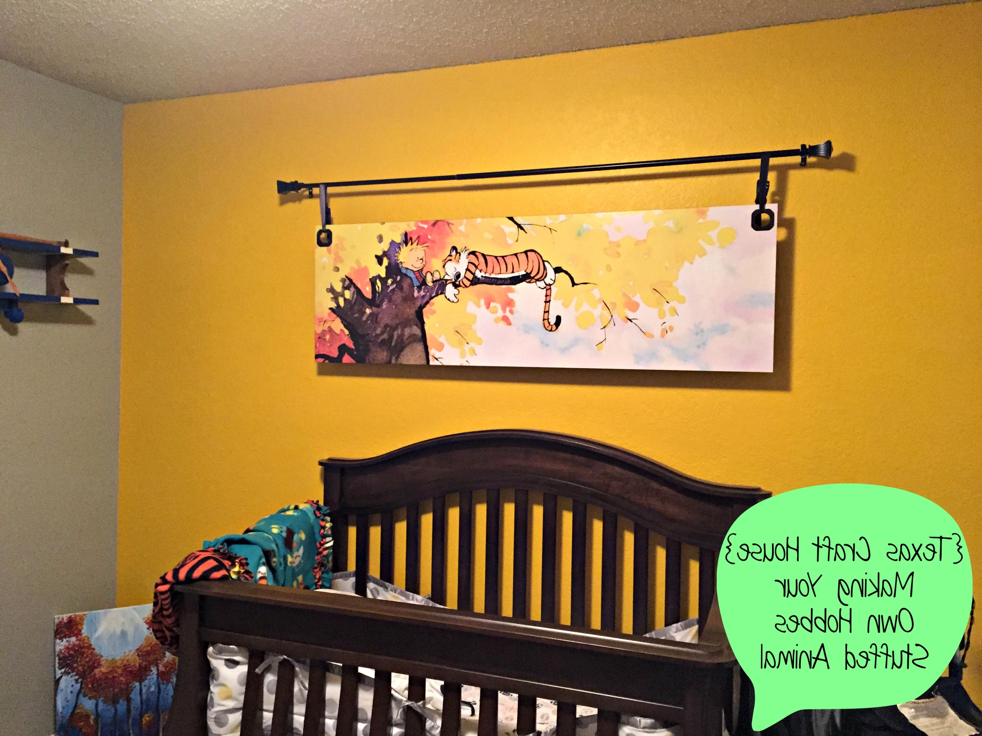Most Popular Calvin And Hobbes Wall Art In Calvin & Hobbes Nursery – Not Such A Big Mural Might Be Easier To (View 11 of 15)