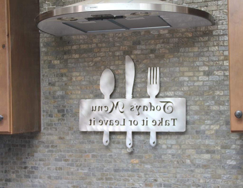 Most Popular Cool Kitchen Wall Art In Kitchen Backsplashes : Home And Decor Ideas Buy Wall Decor Metal (View 6 of 15)