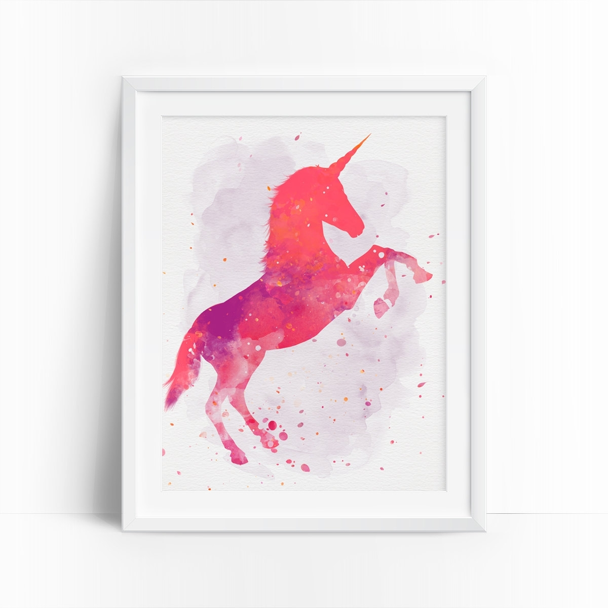 Most Popular Download Unicorn Wall Art (View 7 of 15)