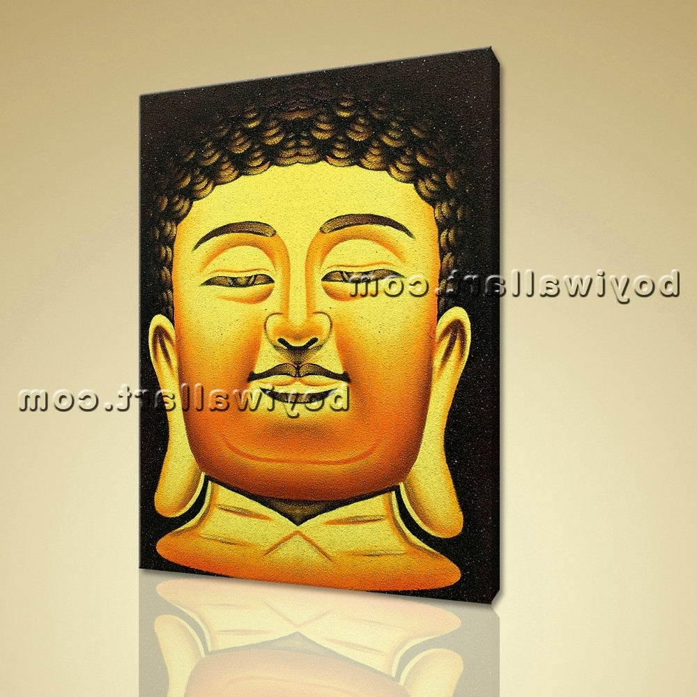 Photos of Abstract Buddha Wall Art (Showing 6 of 15 Photos)