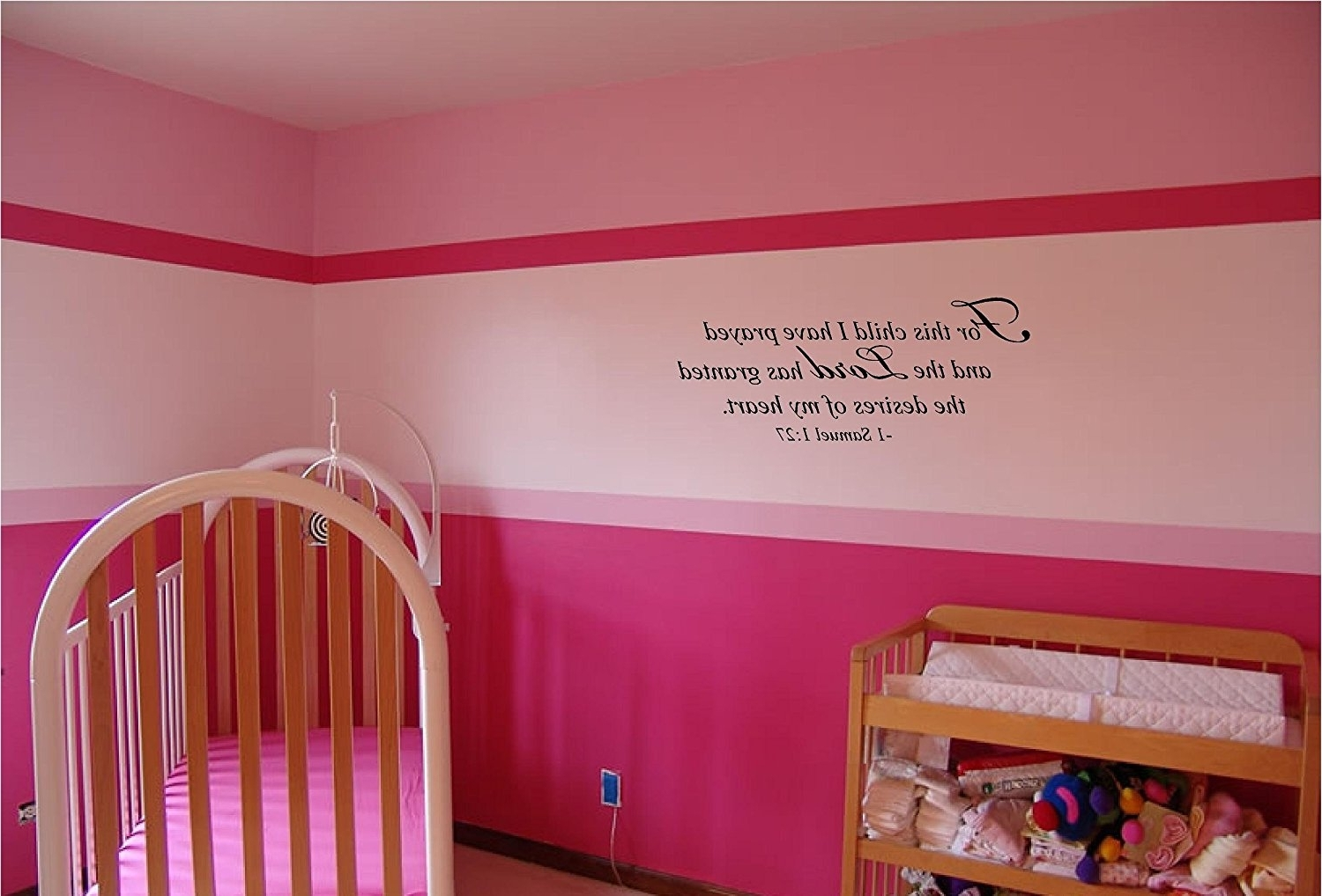 Most Popular For This Child I Prayed Wall Art Throughout Amazon: For This Child I Have Prayed And The Lord Has Granted (View 6 of 15)