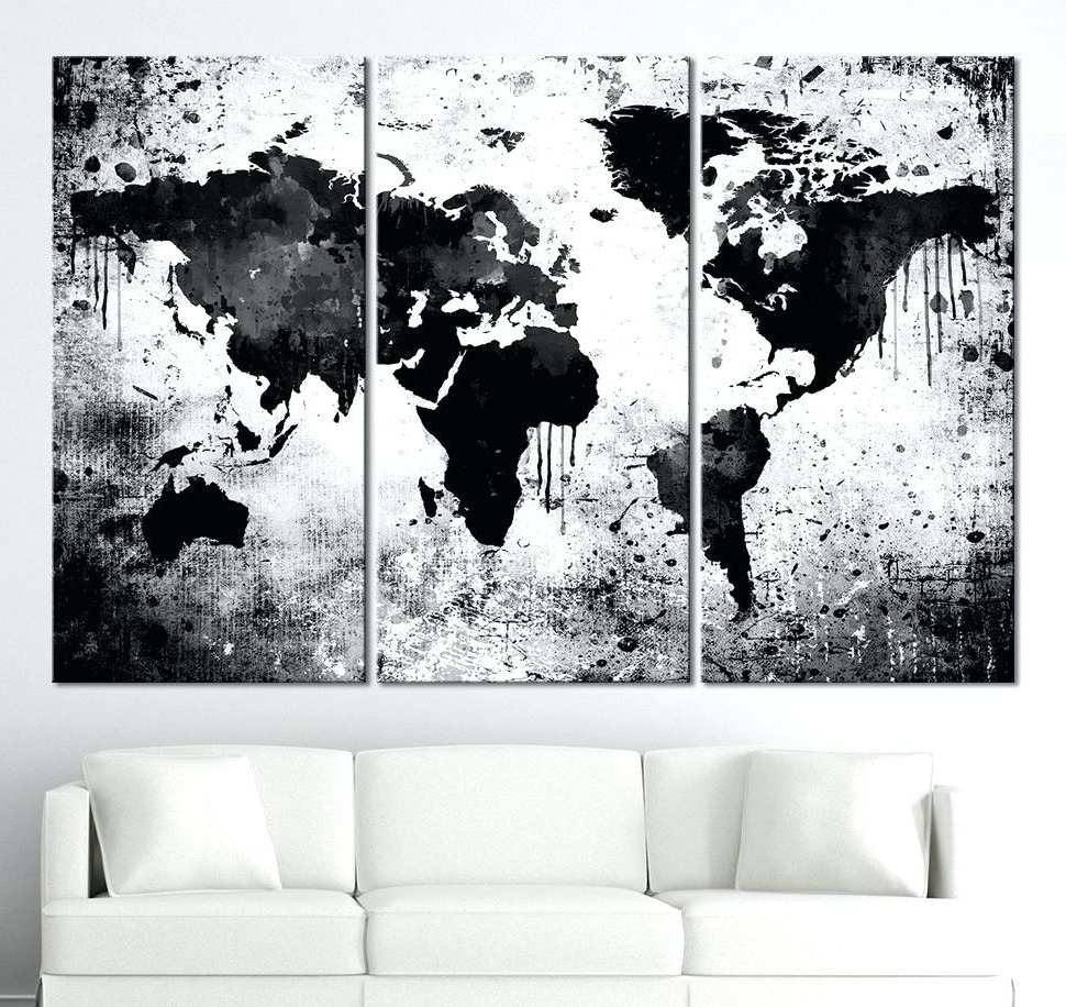 Most Popular Hobby Lobby Abstract Wall Art In Wall Arts ~ Wall Art World Market Hobby Lobby Us Map Canvas Map (View 10 of 15)