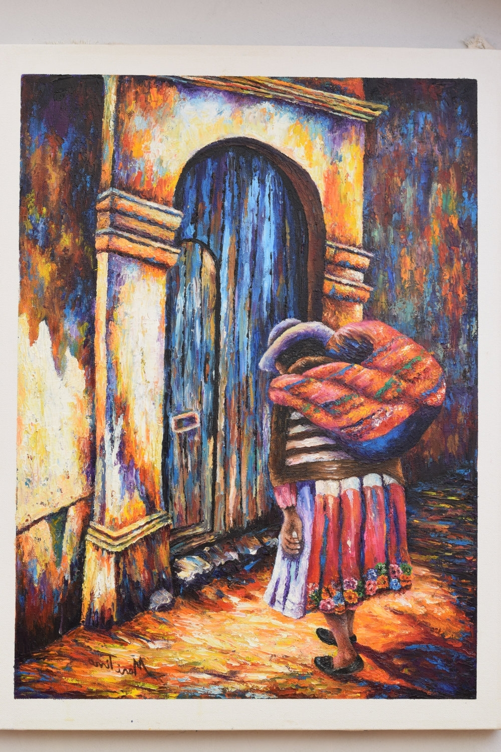 Most Popular Home Decor, Wall Decor, Oil Painting, Peruvian Art De Tinoart En Intended For Peruvian Wall Art (View 5 of 15)