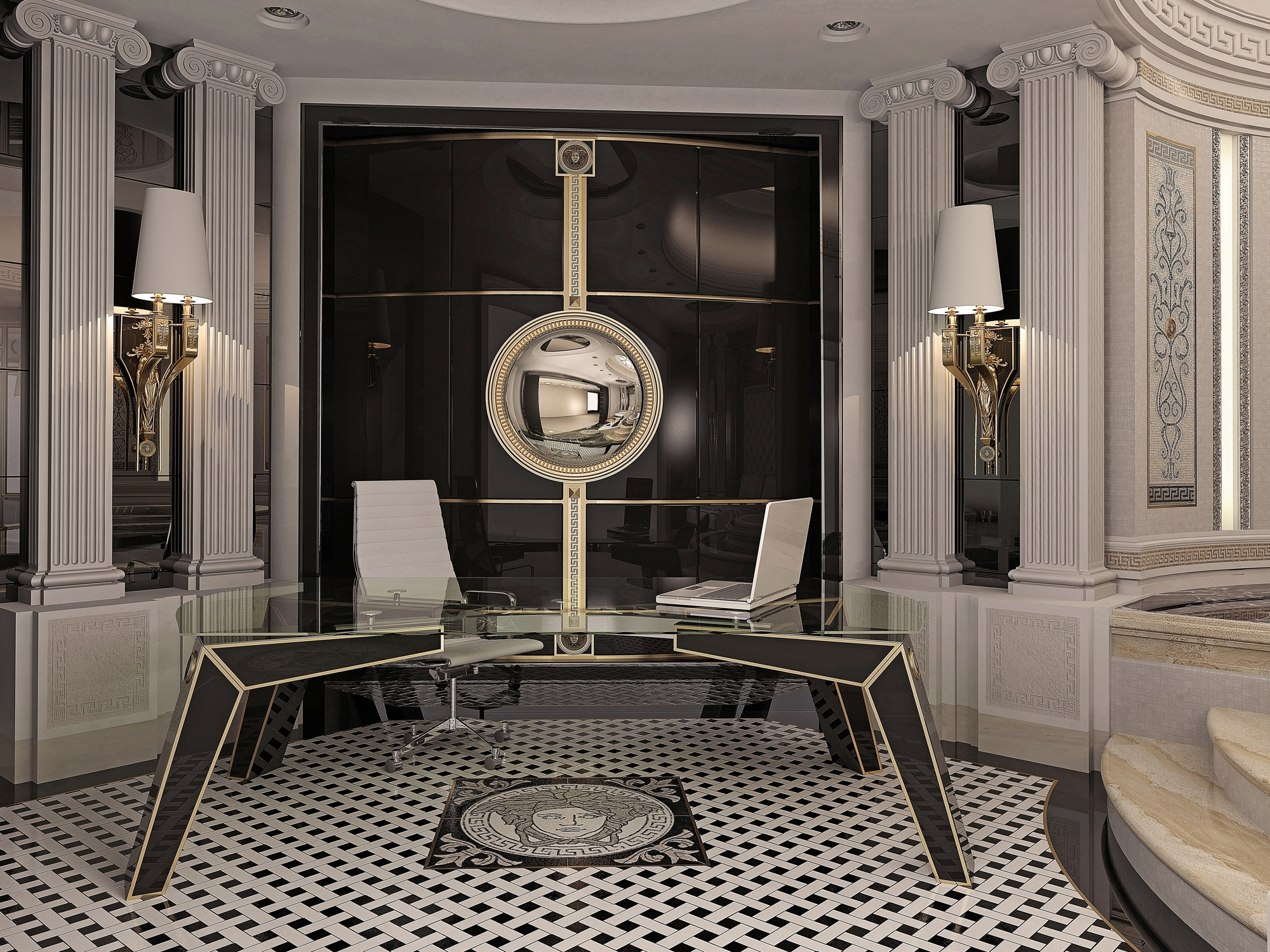 Most Popular Interior And Art Files: Versace Home For Versace Wall Art (View 4 of 15)