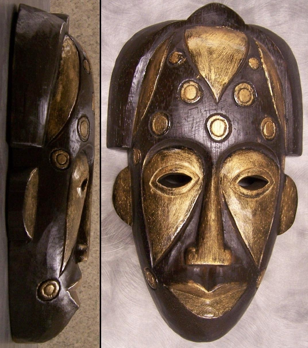 Most Popular Item Specifics (Good Wooden Tribal Mask Wall Art #3 Throughout Wooden Tribal Mask Wall Art (View 2 of 15)
