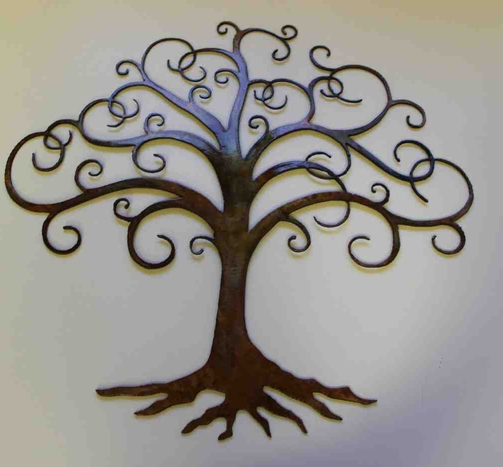 Featured Photo of Oak Tree Large Metal Wall Art