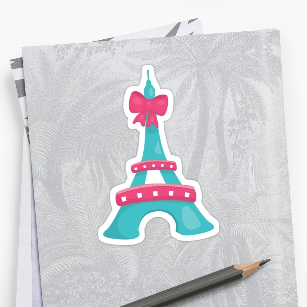 "Most Popular Paris Themed Party Stickers"" Stickerspartypeepsfun (View 5 of 15)"
