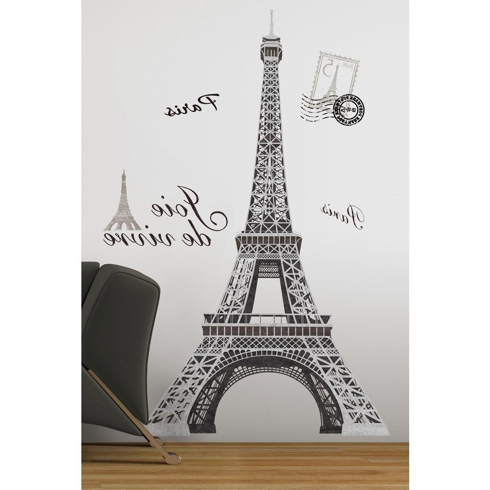 Most Popular Paris Wall Decal (View 2 of 15)