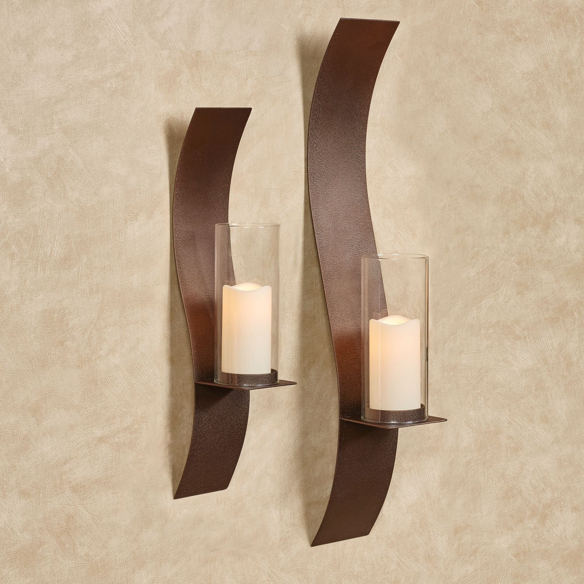 Most Popular Wall Sconces, Wall Candleholders, And Wall Candelabras (View 10 of 15)