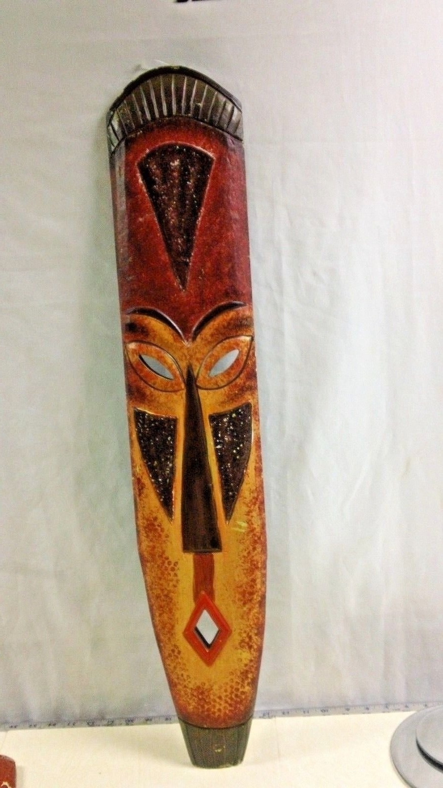 Most Popular Wooden Tribal Mask Wall Art (View 3 of 15)