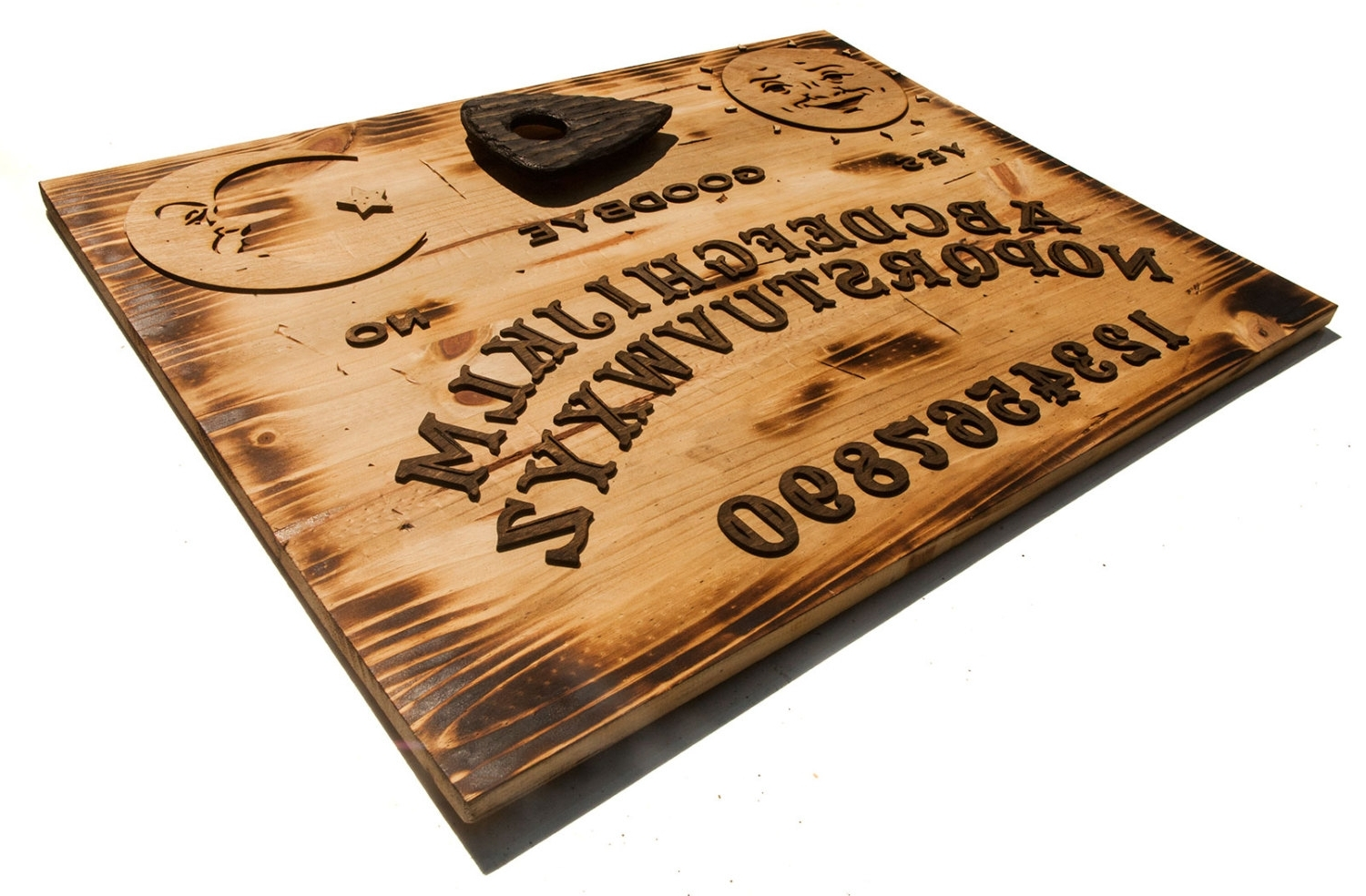 Most Recent 3d Sculptured Wall Hanging Wooden Ouija Board Art (View 13 of 15)
