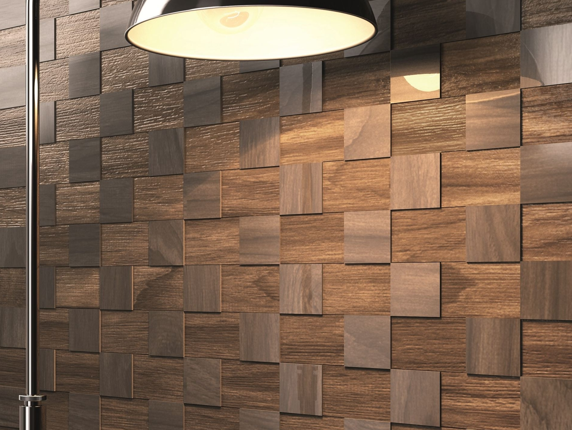Most Recent 3D Wall Art Decorating Wallpaper Painting Contemporary Dark Wood In Wood 3D Wall Art (View 6 of 15)