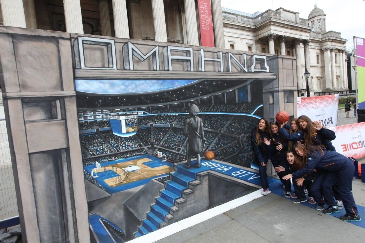 Most Recent 3D Wall Art Illusions Regarding Joe Hill Art – 3D Pavement Art (View 10 of 15)