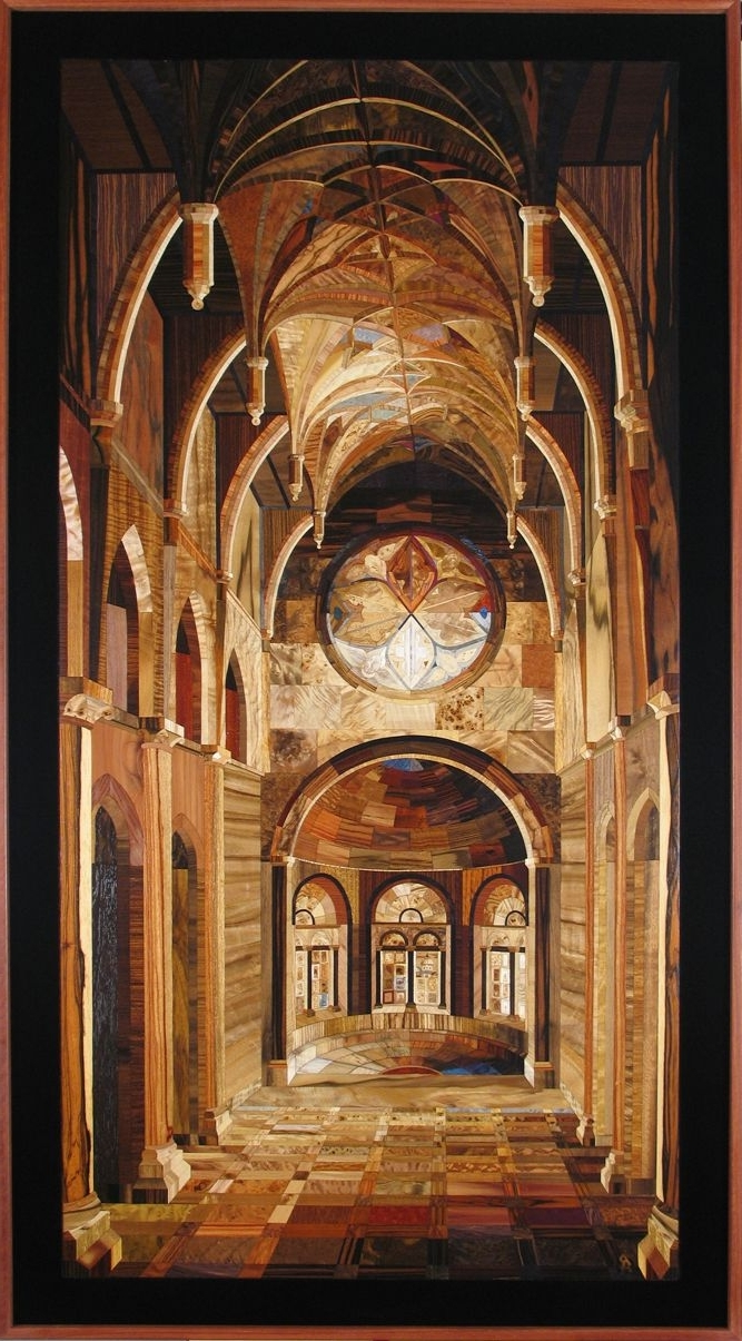 Most Recent 57 Best Inlaid Wood Wall Artkalman Radvanyi – Castles Intended For Italian Inlaid Wood Wall Art (View 9 of 15)