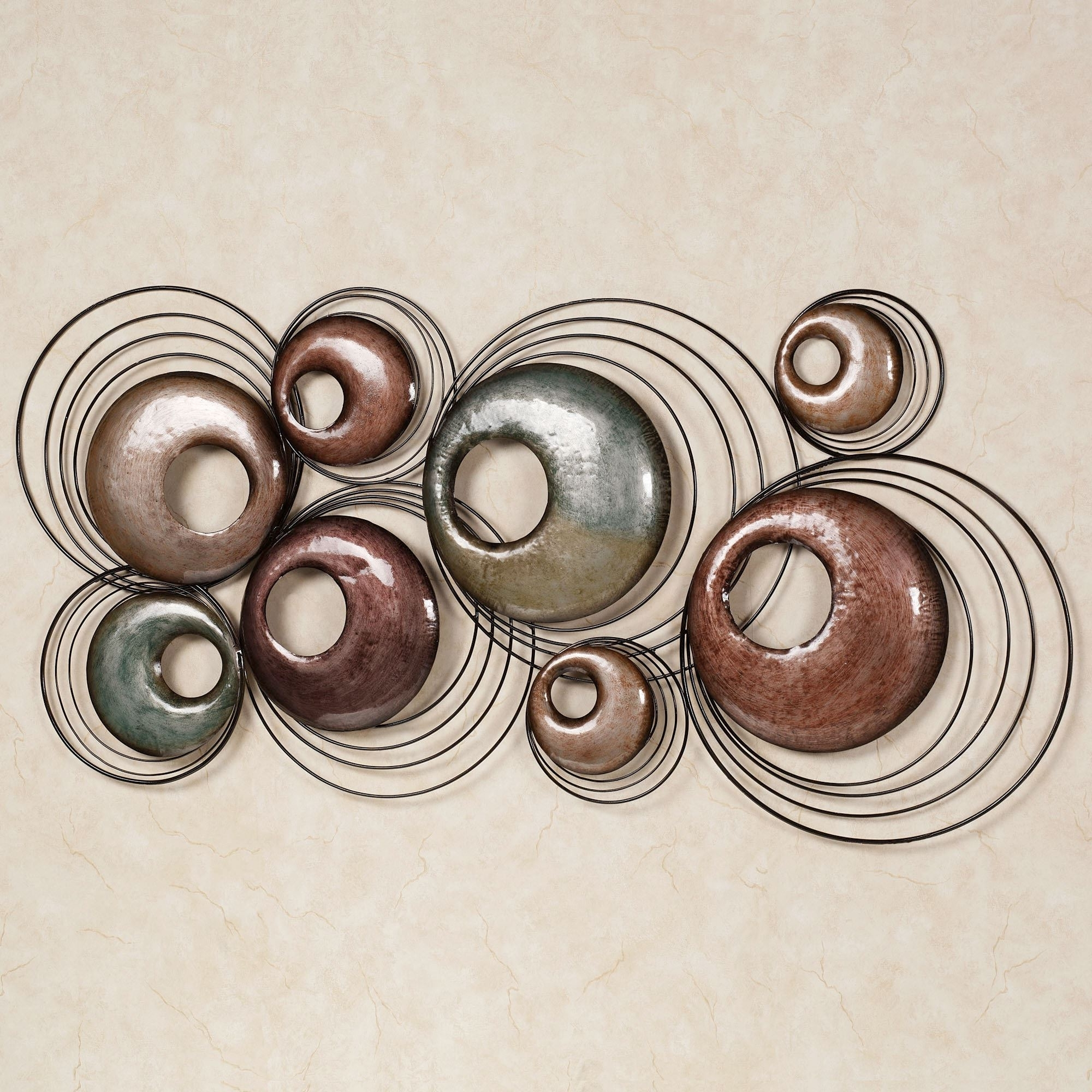 Most Recent Abstract Metal Wall Art Sculptures Pertaining To Echo Metal Wall Sculpture Art (View 11 of 15)