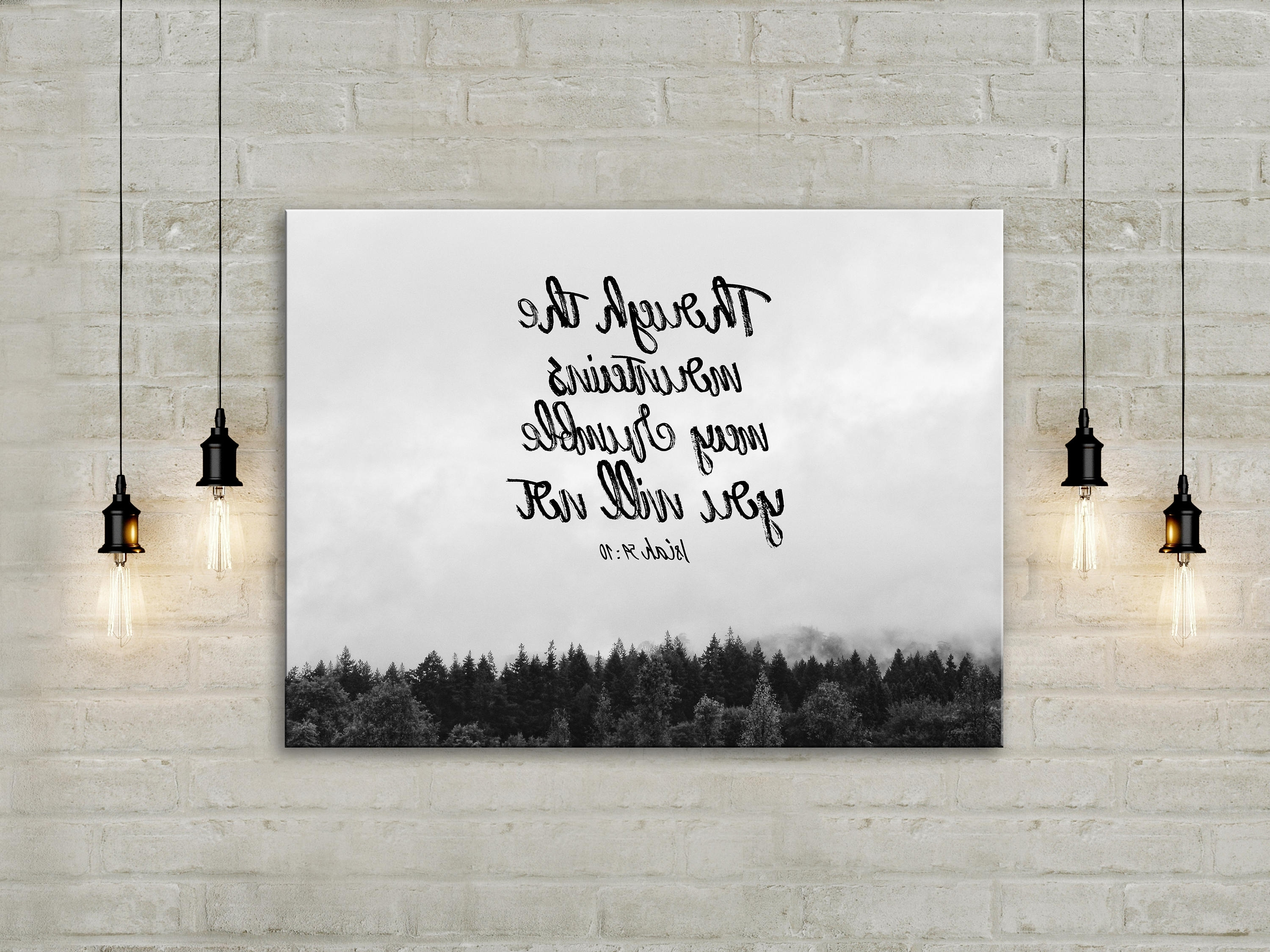 Dorable Wall Art Christian Vignette