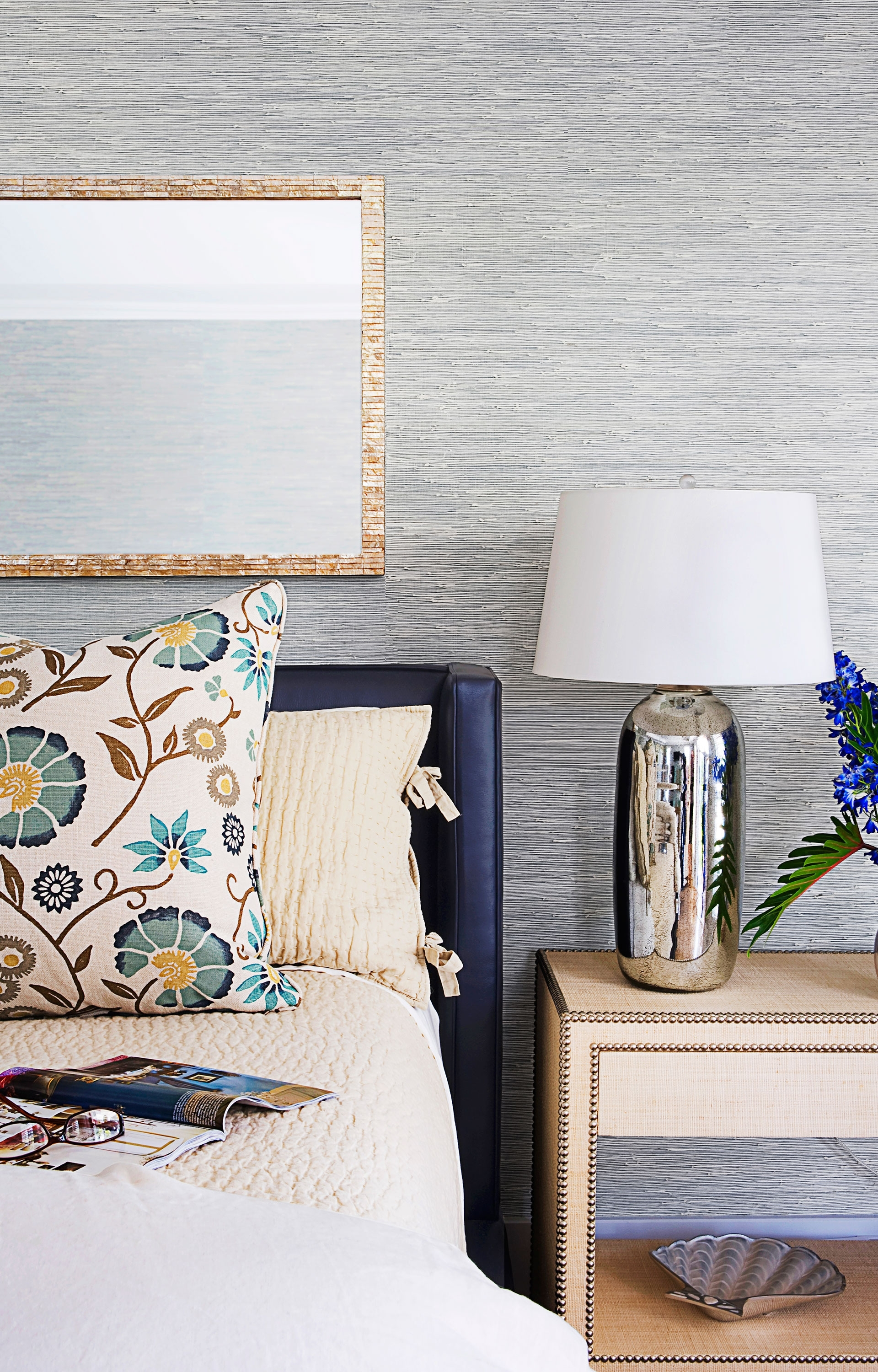 Most Recent Blue And Cream Wall Art With Navy Blue And Brown Curtains Cream And Brown Living Room Ideas (View 10 of 15)