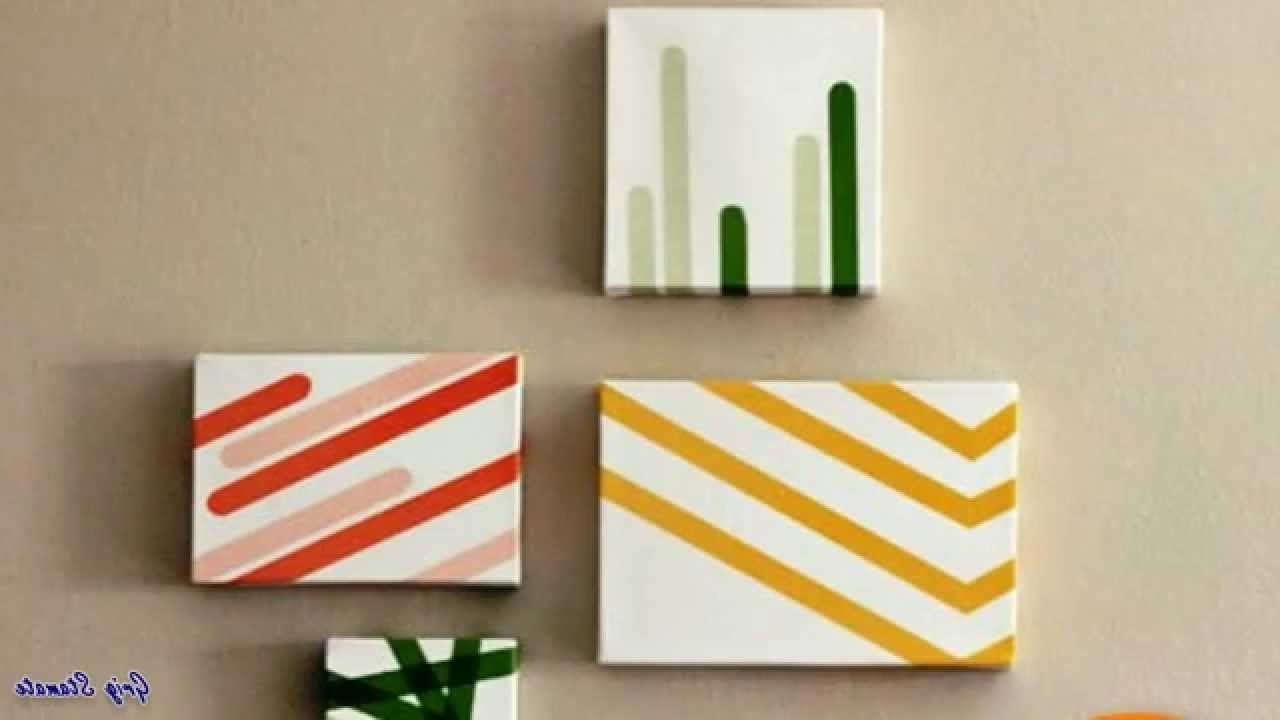 Most Recent Diy: Washi Tape Wall Art (View 11 of 15)