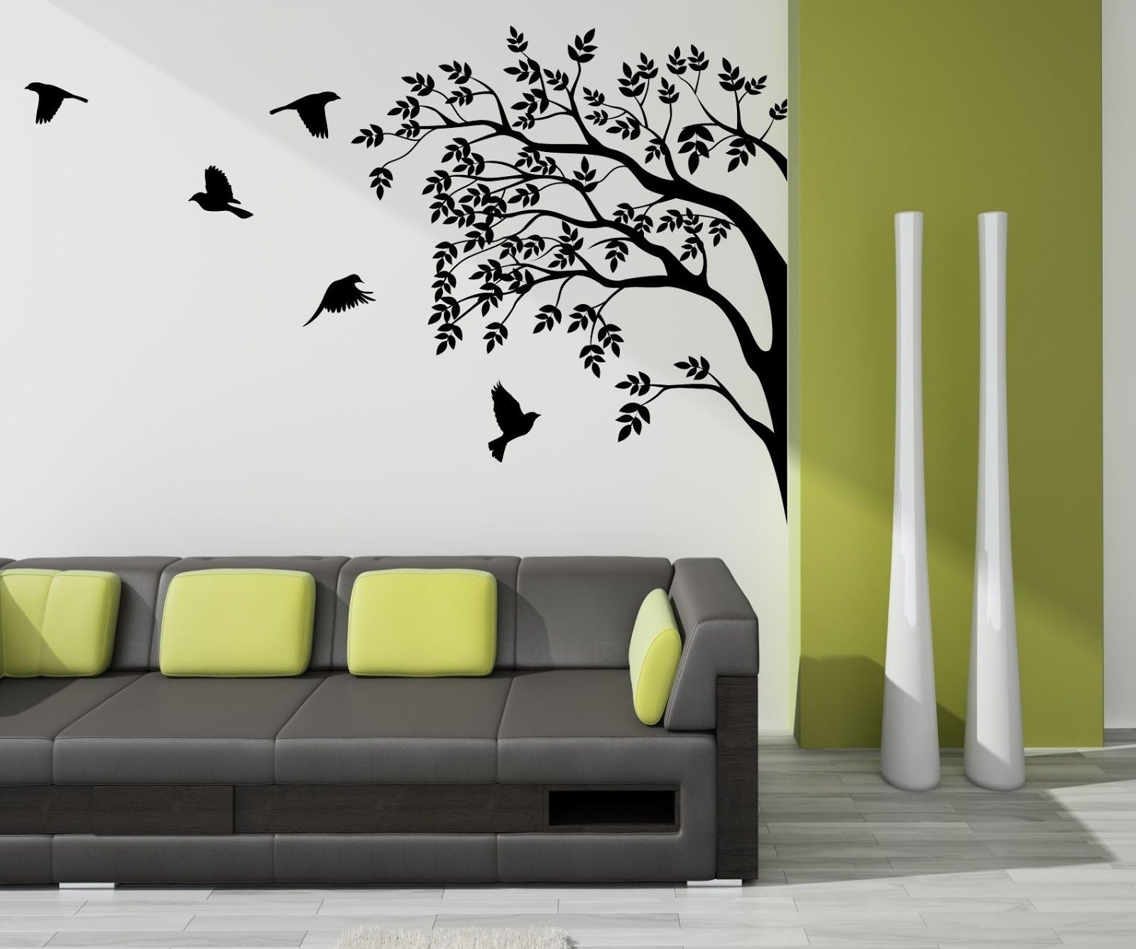 Most Recent Flock Of Birds Wall Art Inside High Resolution Image: Home Design Ideas Wall Designs 1600X (View 10 of 15)