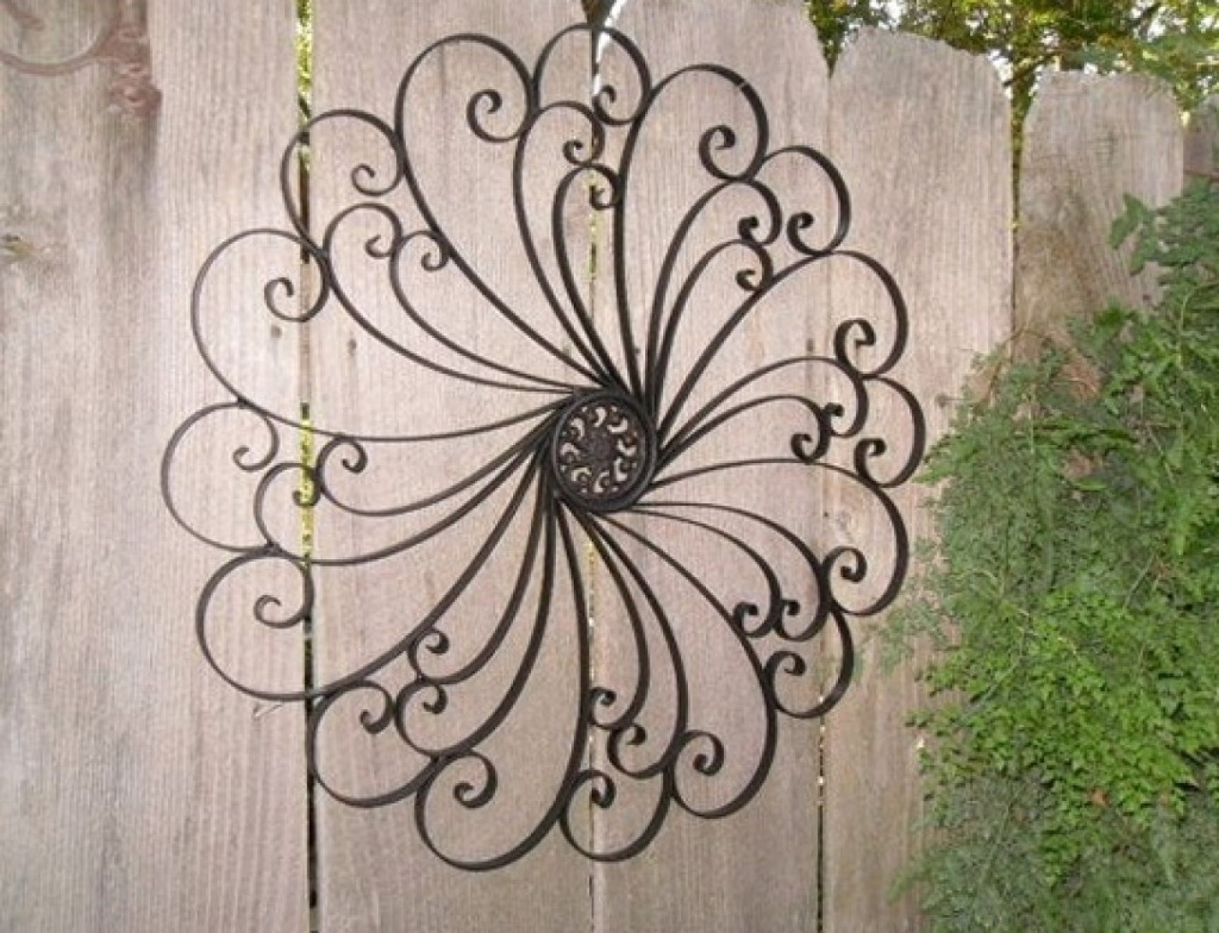 Most Recent Iron Art For Walls Intended For Iron Wall Decor (View 8 of 15)
