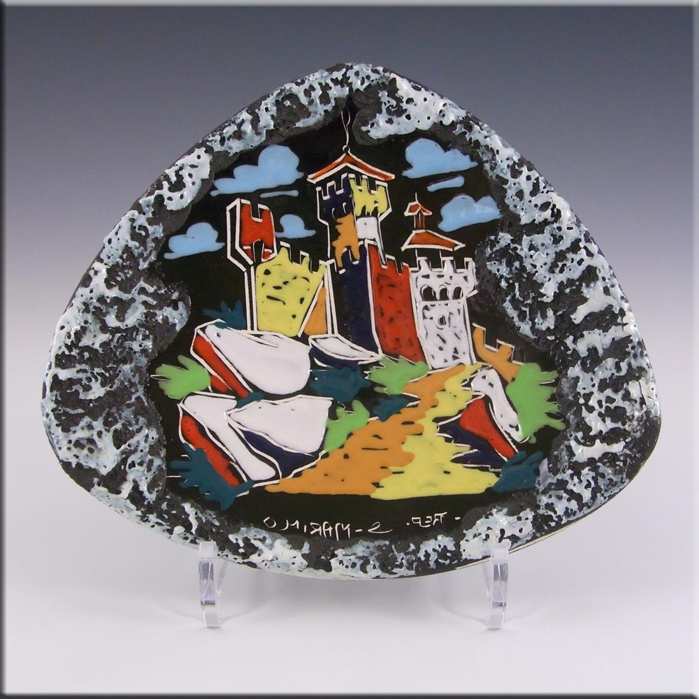 Most Recent Italian Ceramic Wall Art Regarding San Marino Ceramica Titano Italian Ceramic Wall Plaque/bowl (View 13 of 15)