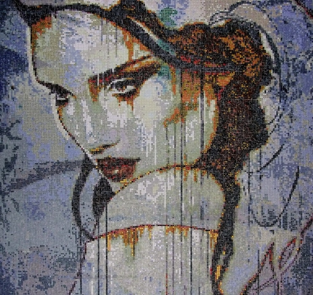 Most Recent Mosaic Tile Art Gallery Design Inspiration 223571 Decorating Ideas Intended For Exclusive Wall Art (View 10 of 15)
